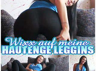 """Vorschaubild vom Privatporno mit dem Titel """"Wichs meine Leggings voll!"""""""