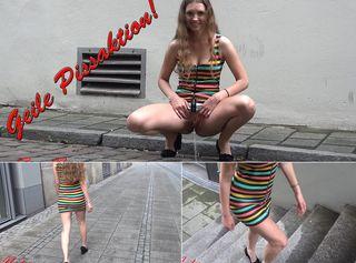 """Vorschaubild vom Privatporno mit dem Titel """"Geile Pissaktion"""""""