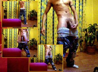 """Vorschaubild vom Privatporno mit dem Titel """"Sexy Körperposing in Jeans und Boxers (Userwusch)"""""""