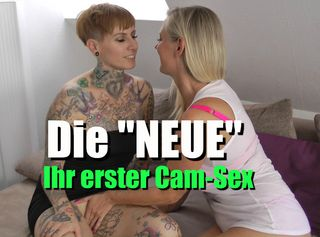 """Vorschaubild vom Privatporno mit dem Titel """"Die """"NEUE"""" – Ihr erstes Mal vor der Cam"""""""