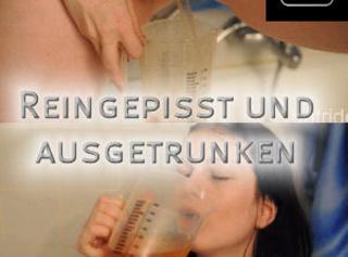 """Vorschaubild vom Privatporno mit dem Titel """"Reingepisst und ausgetrunken"""""""