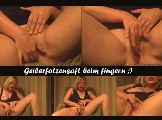 """Vorschaubild vom Privatporno mit dem Titel """"Fingern mit Muschisaft"""""""