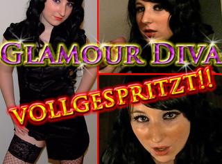 """Vorschaubild vom Privatporno mit dem Titel """"Glamour Diva VOLLGESPRITZT!!"""""""