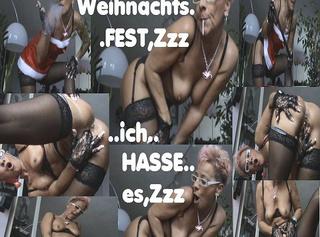 """Vorschaubild vom Privatporno mit dem Titel """"Zzz,ich HASSE-WEIHNACHTEN,Zzz"""""""