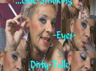 """Vorschaubild vom Privatporno mit dem Titel """",blue EYE`S-Smoking-Dirty-Talk,Zzzz"""""""