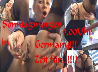 """Vorschaubild vom Privatporno mit dem Titel """"Boah,Sonntagmorgen 9,00 in Deutschland!!"""""""
