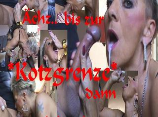 """Vorschaubild vom Privatporno mit dem Titel """"Hart an der KOTZGRENZE bis zum SCHLUCKEN,Zzz"""""""