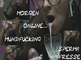 """Vorschaubild vom Privatporno mit dem Titel """"Mundfotzen-Fucking-Spermafresse!!!"""""""
