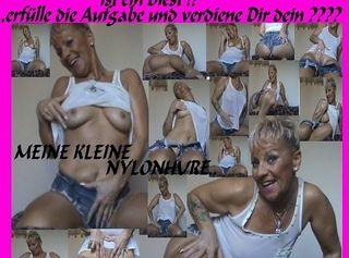 """Vorschaubild vom Privatporno mit dem Titel """"mein Sklave-Nylonhure-GAY-PARTIE,d.Herrin ist ein Biest..."""""""