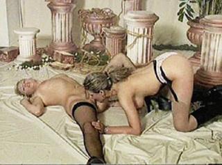 """Vorschaubild vom Privatporno mit dem Titel """"Beim Shooting werden die Mädels geil"""""""
