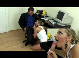 """Vorschaubild vom Privatporno mit dem Titel """"Mit der Sekretärin auf dem PC-Tisch rumgemacht"""""""