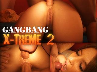 """Vorschaubild vom Privatporno mit dem Titel """"Gangbang X-TREME II - Jetzt wirds Anal"""""""