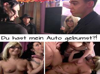 """Vorschaubild vom Privatporno mit dem Titel """"Du hast mein Auto gebumst?!"""""""