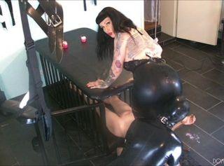"""Vorschaubild vom Privatporno mit dem Titel """"Ausbildung zum gehorsamen Sklaven Schritt 2: Bestrafung 2/2"""""""