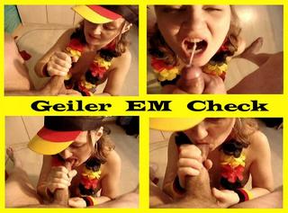 """Vorschaubild vom Privatporno mit dem Titel """"Geiler EM Check"""""""