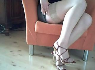 """Vorschaubild vom Privatporno mit dem Titel """"Meine neuen Heels"""""""