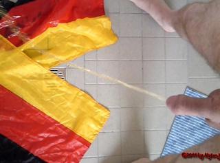 """Vorschaubild vom Privatporno mit dem Titel """"Flaggen PISS"""""""