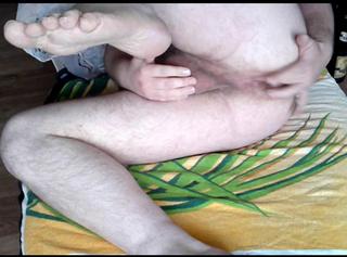 """Vorschaubild vom Privatporno mit dem Titel """"Nacktes Spiel am Arschloch"""""""