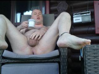 """Vorschaubild vom Privatporno mit dem Titel """"Einen Kaffee am Guten Morgen ** FKK Outdoor **"""""""