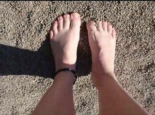"""Vorschaubild vom Privatporno mit dem Titel """"Nackte Käse Füße ** Outdoor **"""""""