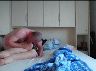 """Vorschaubild vom Privatporno mit dem Titel """"Sexy MILF im Ouvert Slip"""""""