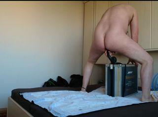 """Vorschaubild vom Privatporno mit dem Titel """"Wie reitet man einen weichen DILDO ** ANAL Spaß **"""""""