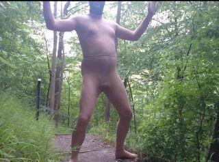 """Vorschaubild vom Privatporno mit dem Titel """"Feinstrumpfhosen und Maske auf Seilbahnberg ** Outdoor Spaß **"""""""