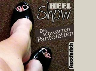 """Vorschaubild vom Privatporno mit dem Titel """"schwarze Pantoletten ..."""""""