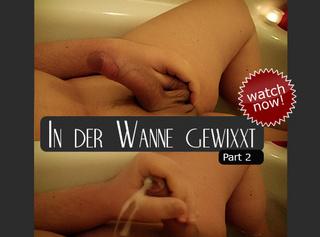 """Vorschaubild vom Privatporno mit dem Titel """"In der Wanne gewixxt (02) ..."""""""