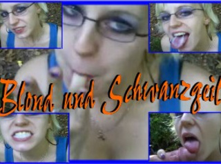 """Vorschaubild vom Privatporno mit dem Titel """"Blond & Schwangeil ( outdoor )"""""""