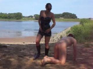 """Vorschaubild vom Privatporno mit dem Titel """"Die Outdoor HERRIN"""""""