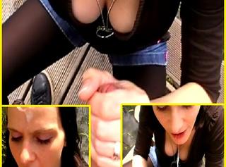 """Vorschaubild vom Privatporno mit dem Titel """"* Outdoor Deepthroat & Xtrem FacialCum *"""""""