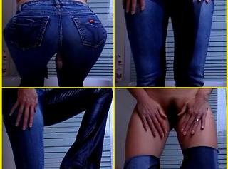 Sexy enge MissSixty Jeans für User schön vollgepisst. Ich hoffe du hast Spaß damit. :)
