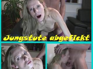 """Vorschaubild vom Privatporno mit dem Titel """"Jungstute extrem abgefickt!"""""""