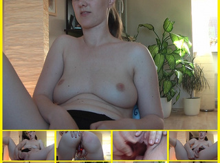 "Vorschaubild vom Privatporno mit dem Titel ""Retro – Nymphe is born – my first CamSession ever"""