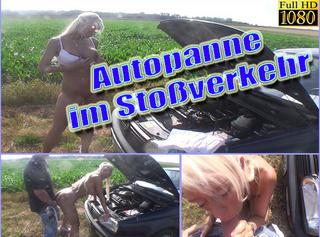 """Vorschaubild vom Privatporno mit dem Titel """"Autopanne im Stoßverkehr"""""""