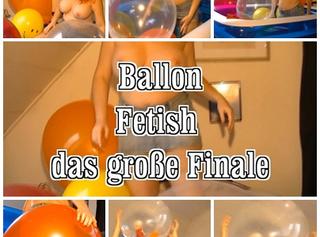 """Vorschaubild vom Privatporno mit dem Titel """"Ballon Fetish das große Finale"""""""