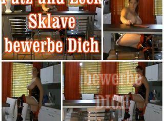 """Vorschaubild vom Privatporno mit dem Titel """"PUTZ und LECK Sklave gesucht"""""""