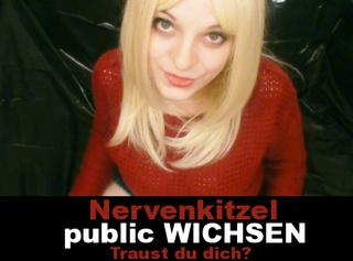 """Vorschaubild vom Privatporno mit dem Titel """"Nervenkitzel! Public Wichsen!"""""""