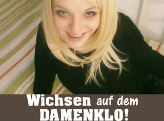 """Vorschaubild vom Privatporno mit dem Titel """"Wichsen auf dem Damenklo!"""""""