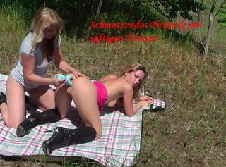 """Vorschaubild vom Privatporno mit dem Titel """"Das heiße, spritzige Picknick"""""""
