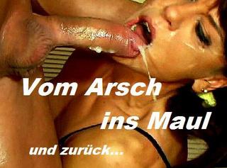 """Vorschaubild vom Privatporno mit dem Titel """"Vom Arsch ins Maul"""""""