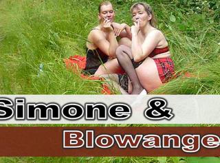 """Vorschaubild vom Privatporno mit dem Titel """"SimoneXXX & Blow-Angel rauchen"""""""