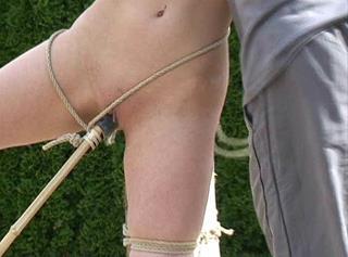 """Vorschaubild vom Privatporno mit dem Titel """"Outdoor Bondage"""""""