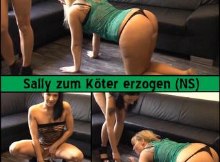 """Vorschaubild vom Privatporno mit dem Titel """"Sally zum Köter erzogen (NS)"""""""