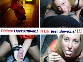 """Vorschaubild vom Privatporno mit dem Titel """"Dicken Userschwanz in Bar leer gewichst!!!"""""""
