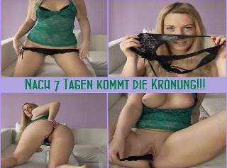 """Vorschaubild vom Privatporno mit dem Titel """"Nach 7 Tagen kommt die Krönung!!!"""""""