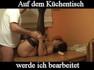 """Vorschaubild vom Privatporno mit dem Titel """"Auf dem Küchentisch"""""""