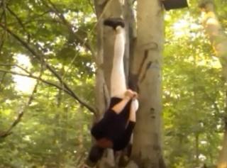 """Vorschaubild vom Privatporno mit dem Titel """"Im Wald aufgehängt"""""""