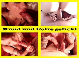 """Vorschaubild vom Privatporno mit dem Titel """"Mund und Fotze gefickt"""""""